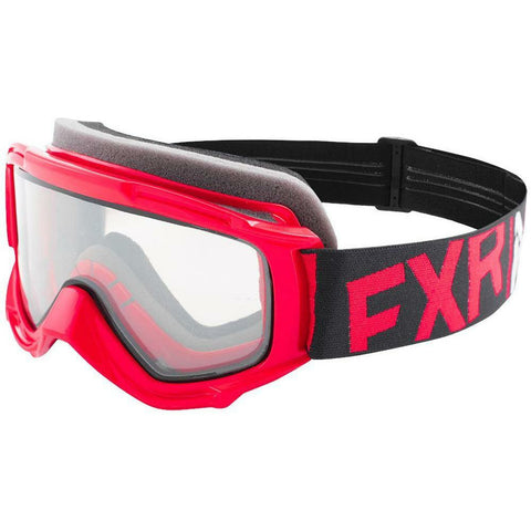 FXR Youth Throttle Goggle Goggles FXR Red/Black/White OS
