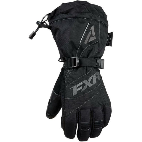 FXR W Fusion Glove 2019 Gloves FXR Black/Charcoal XS