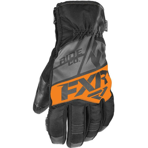 FXR M Fuel Short Cuff Glove 2019 Gloves FXR Black/Char/Orange XS