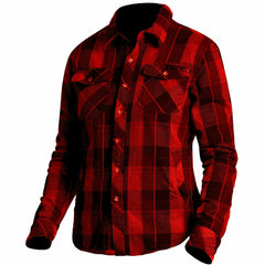 FXR W Timber Plaid Shirt 2019 Flannel FXR Maroon/Black XS