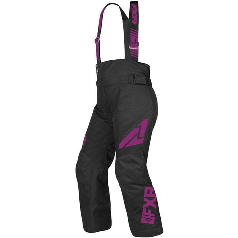 FXR Youth Clutch Pant 2019 Pants & Bibs FXR Black/Wineberry 2