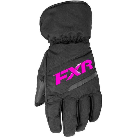FXR Youth Octane Glove 2019 Gloves FXR Black/Fuchsia S