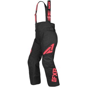 FXR Youth Clutch Pant 2019 Pants & Bibs FXR Black/Coral 12