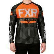 FXR Helium X Tech Men's Longsleeve 2020 Layers FXR 2020 Char Camo/Orange S
