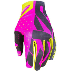 FXR SLIP ON LITE MX GLOVE 19 Gloves FXR ELEC PINK/BLACK/HI VIS SM