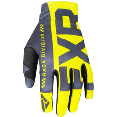 FXR SLIP ON LITE MX GLOVE 19 Gloves FXR HI VIS/BLACK SM