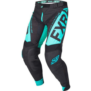 FXR HELIUM MX PANT 19 Pants & Bibs FXR Black/Mint 28