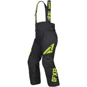 FXR Youth Clutch Pant 2019 Pants & Bibs FXR Black/Lime 2