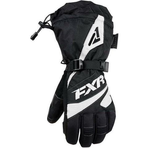 FXR W Fusion Glove 2019 Gloves FXR Black/White XS