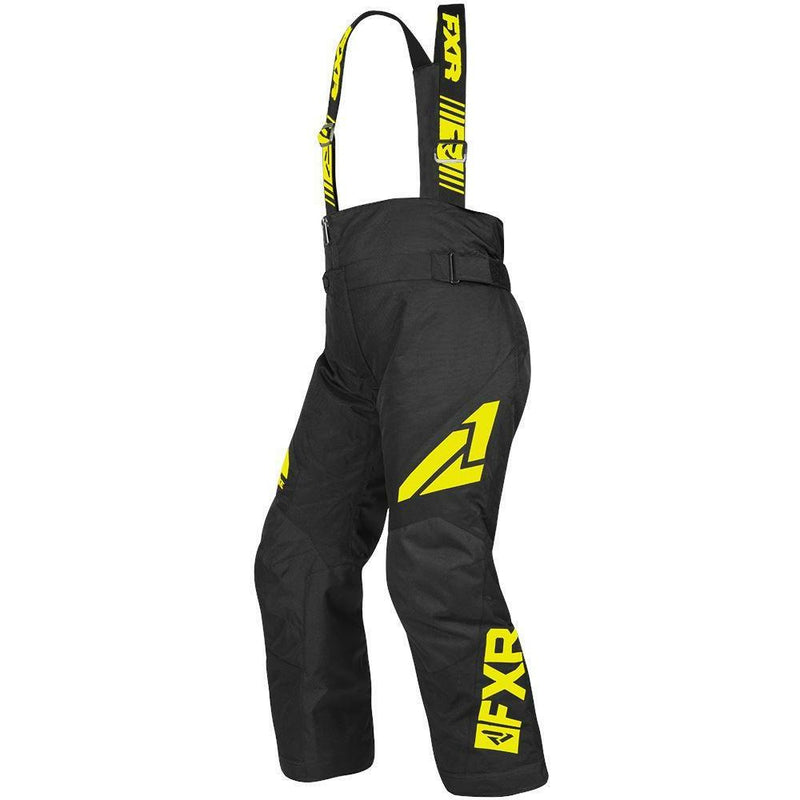 FXR Youth Clutch Pant 2019 Pants & Bibs FXR Black/Hi Vis 10