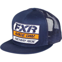 FXR Race Division Hat 2019 Hat FXR Navy/Orange/White OS