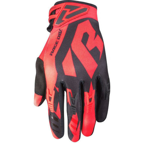 FXR FACTORY RIDE ADJUSTABLE MX GLOVE 19 Gloves FXR NUKE RED/BLACK SM
