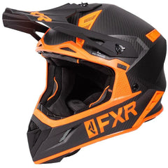 FXR Helium Carbon Helmet 2019 Helmet FXR Black/Orange XS