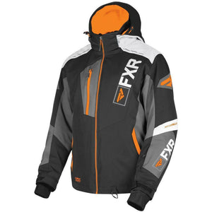 FXR M Renegade X4 Jacket 2019 Jacket FXR Black/Char/White Weave/Orange S