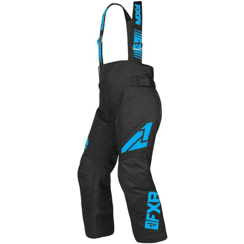 FXR Youth Clutch Pant 2019 Pants & Bibs FXR Black/Blue 14