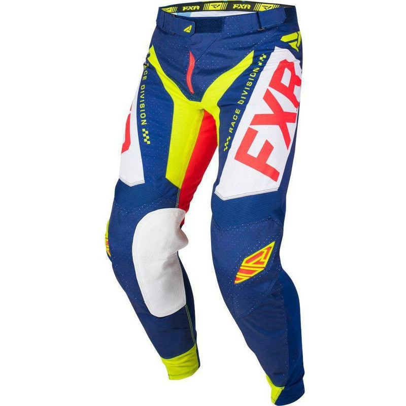FXR HELIUM MX PANT 19 Pants & Bibs FXR NAVY/LT GREY/RED/HIVIS 28