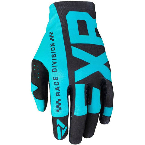 FXR SLIP ON LITE MX GLOVE 19 Gloves FXR BLACK/MINT SM