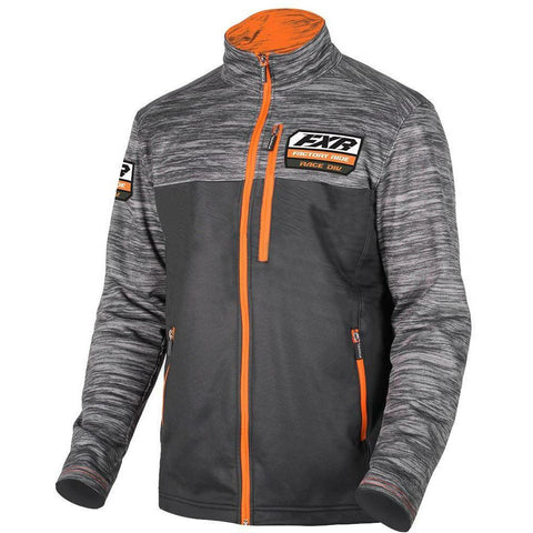 FXR M Elevation Tech Zip-Up 2019 Hoodie FXR Black/Orange S