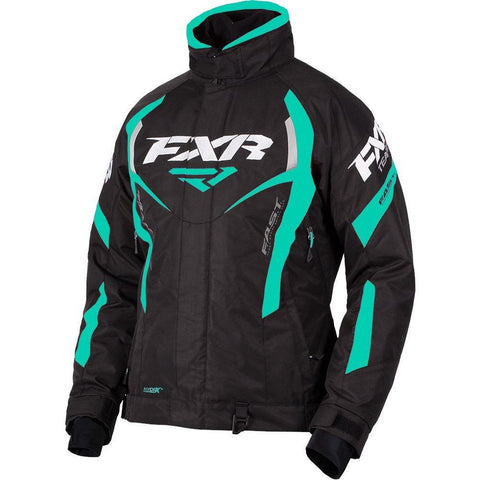 FXR W Team RL Jacket 2019 Jacket FXR Black/Mint 2
