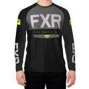FXR Helium X Tech Men's Longsleeve 2020 Layers FXR 2020 Black/Hi Vis S