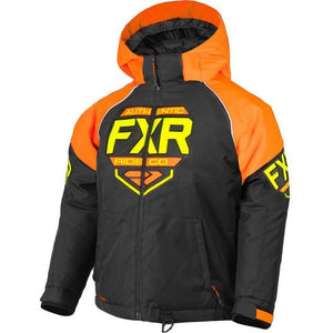 FXR Youth Clutch Jacket 2019 Jacket FXR Black/Orange/Hi Vis 2