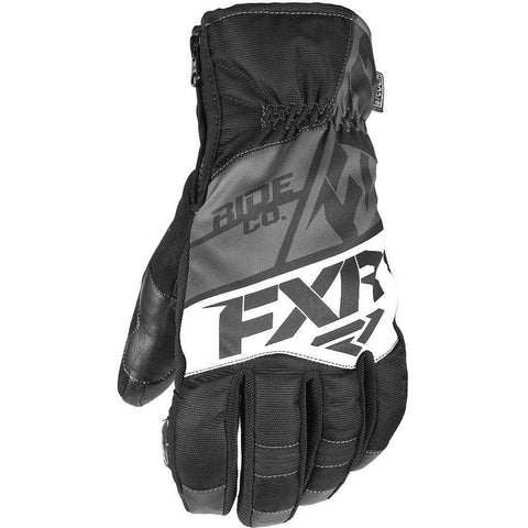 FXR M Fuel Short Cuff Glove 2019 Gloves FXR Black/Char/White XS