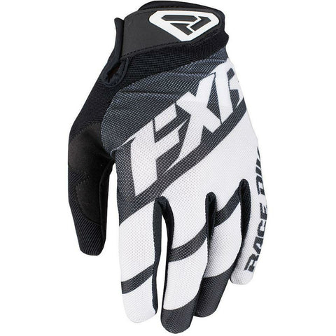 FXR CLUTCH STRAP MX GLOVE 19 Gloves FXR BLACK/WHITE SM