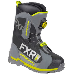 FXR Backshift BOA Boot 2019 Footwear FXR Black/Char/Hi Vis 5\7