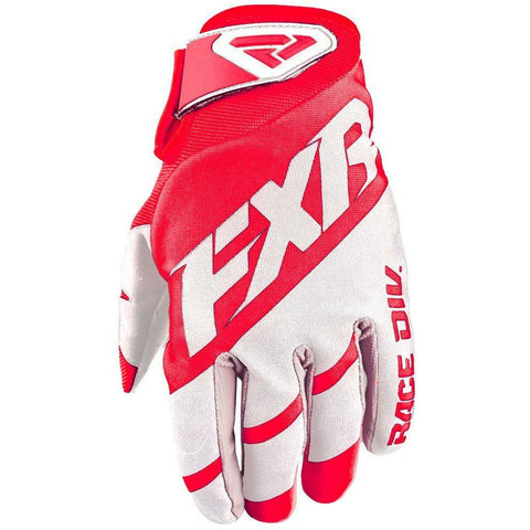 FXR CLUTCH STRAP MX GLOVE 19 Gloves FXR RED/WHITE SM
