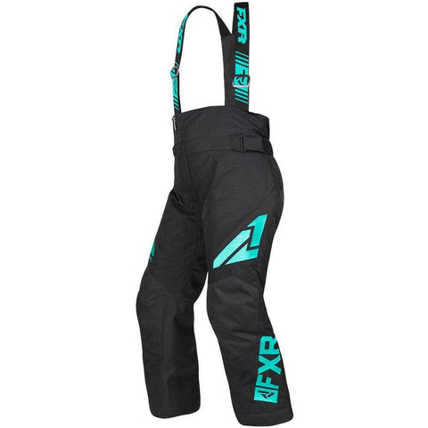 FXR Youth Clutch Pant 2019 Pants & Bibs FXR Black/Mint 14