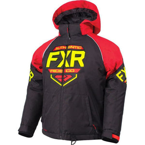 FXR Youth Clutch Jacket 2019 Jacket FXR Black/Red/Hi Vis 2