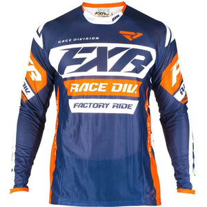 FXR REVO MX JERSEY 19 Jersey FXR DARK NAVY/WHITE/ORANGE SM