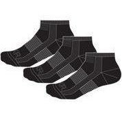 FXR Turbo Ankle Socks (3 pack) 2020 Footwear FXR 2020 Black S/M