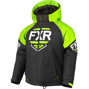 FXR Youth Clutch Jacket 2019 Jacket FXR Black/Lime/White 2