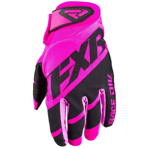 FXR CLUTCH STRAP MX GLOVE 19 Gloves FXR ELEC PINK/BLACK SM