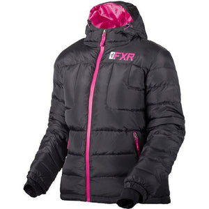 FXR W Elevation Down Jacket 2019 Jacket FXR Black/Fuchsia XS