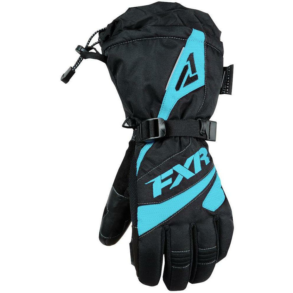 FXR W Fusion Glove 2019 Gloves FXR Black/Mint XS