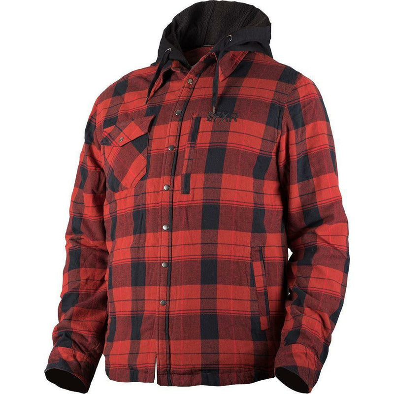 FXR M Timber Plaid Insulated Jacket Jacket FXR Charcoal/Orange S