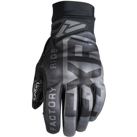 FXR M Cold Cross Pro-Tec Glove 2019 Gloves FXR Black Ops S