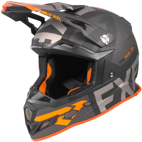 FXR Boost Evo Helmet 2019 Helmet FXR Black/Char/Orange XS
