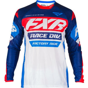FXR REVO MX JERSEY 19 Jersey FXR WHITE/NAVY/RED/BLUE SM
