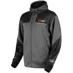 FXR Terrain Sherpa Men's Tech Hoodie | Sale Hoodie FXR Charcoal Heather/Black Medium
