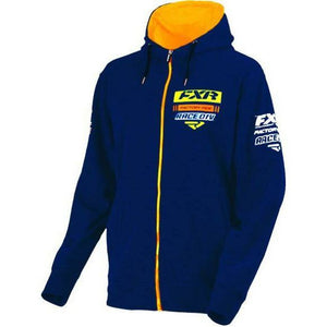 FXR Race Division Mens Hoodie | Clearance Hoodie FXR Navy/Orange M