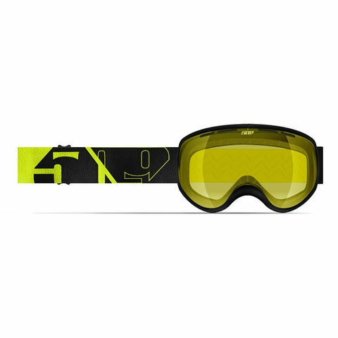 509 Ripper Youth Snow Goggle Goggles 509 2020 Black Hi-Vis Yellow Tint