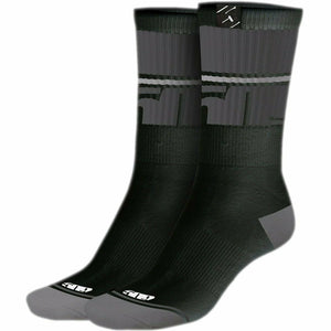 509 Route 5 Casual Socks Footwear 509 STEALTH LG - XL