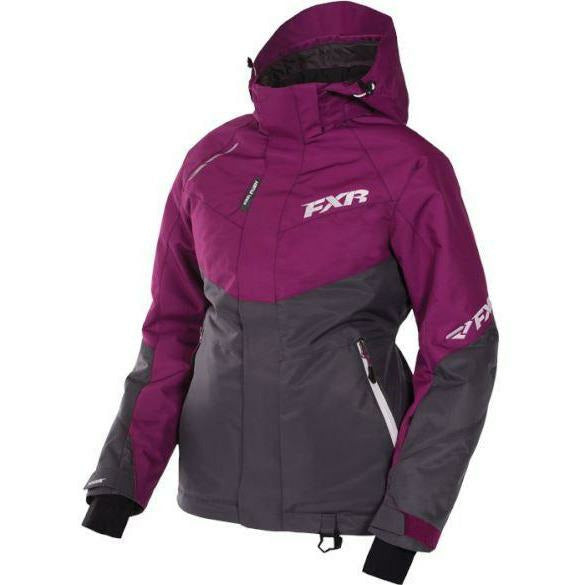 FXR Rush Women's Jacket | Clearance Jacket FXR Wineberry/Charcoal 6