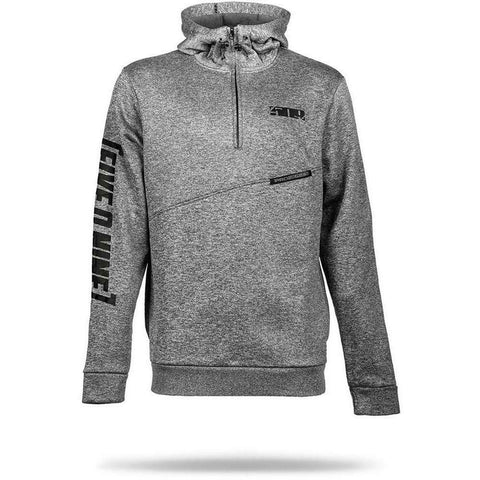 509 Sector 1/4 Zip Hoody Hoodie 509 Gray Small