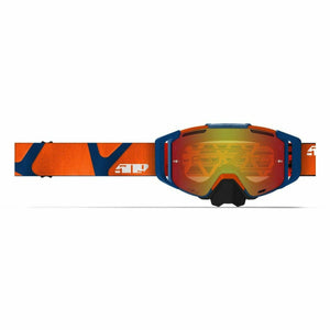 509 Sinister MX6 Fuzion Flow Goggle Goggles 509 Orange Navy Hextant