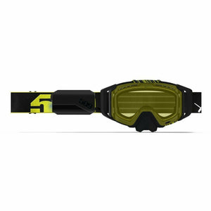 509 Sinister X6 Ignite Goggle 2020 Goggles 509 2020 Black Hi-Vis Heated Yellow Tint