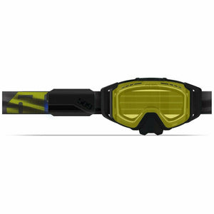 509 Sinister X6 Ignite Goggle 2021 Goggles 509 Black Hi-Vis • Yellow Tint Lens